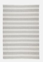 Sixth Floor - Luca outdoor rug - grey & cream