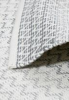Sixth Floor - Gabrielle outdoor rug - grey & ivory