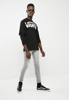 Vans - Vans distorted tee - black