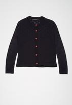 Superbalist - Rainbow button cardigan - navy