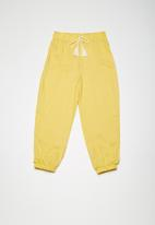 Superbalist - Kids girls harem pants - yellow & white