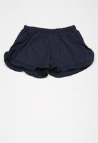 Superbalist - Frill detail shorts - navy