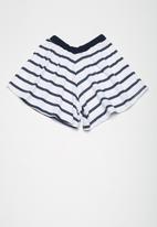 Superbalist - Kids girls 2 pack culotte knit shorts - multi