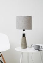 Sixth Floor - Luna lamp - silver