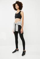 dailyfriday - Side lace leggings - black