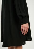Superbalist - Button down shirt dress - black