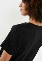 Superbalist - Crew neck tee 2 pack - black & white