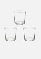 Luigi Bormioli - Rocco bodega glass - 350ml 3 piece