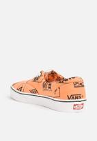Vans - Era - tangerine - black