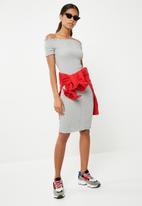 Jacqueline de Yong - Cissel smock dress - grey