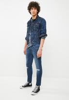 Superbalist - Cropped super skinny jeans - blue