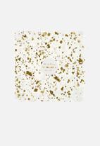 Meri Meri - Gold spatter napkins