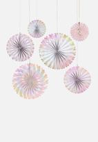 Meri Meri - Iridescent pinwheels