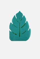 Meri Meri - Palm leaf napkins - green