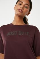 Nike - Dry tee - burgundy