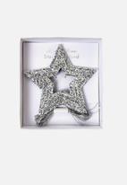 Meri Meri - Silver stars mini garland