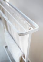 Yamazaki - Tower bath towel hanger - white