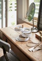 Yamazaki - Tosca accessory foldout tray - white