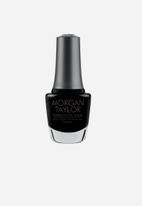 Morgan Taylor - Black Shadow - Blackest Black Crème