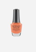 Morgan Taylor - Don't Worry Be Brilliant - Bright Coral Crème