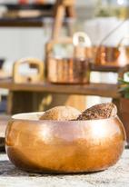 Kitchen Craft - Artesà copper lacquered bamboo serving bowl