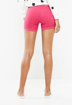 Jacqueline de Yong - Five summer denim shorts - pink