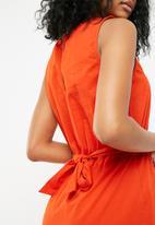 Jacqueline de Yong - Damilla dress - orange