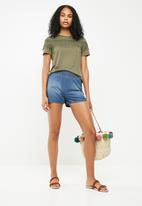 Jacqueline de Yong - Rakel short sleeve top - green