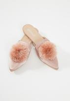 Superbalist - Pam flat mule - pink
