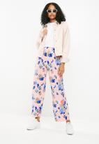 Jacqueline de Yong - Cita pants - pink & blue
