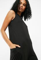 Noisy May - Ines wide jumpsuit - black