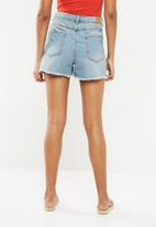 Jacqueline de Yong - Lullo denim shorts - blue