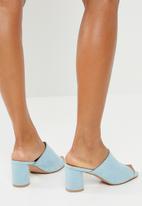 Superbalist - Melissa mid mule - light blue