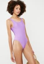 Superbalist - Elle one piece - purple