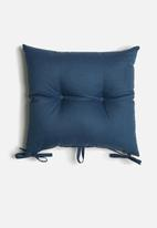 Sixth Floor - Outdoor seat cushion set - navy