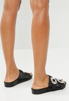 Superbalist - Celia jewelled slide - black