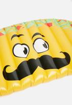 Big Mouth - Taco pool float - yellow