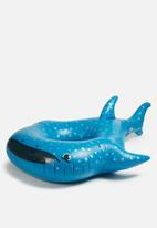 Big Mouth - Whale shark pool float - blue
