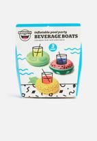 Big Mouth - Tropical fruit drink floats - multi