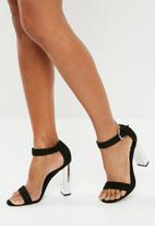 Superbalist - Lala block heel - black & silver