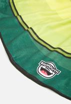 Big Mouth - Avocado beach blanket - green