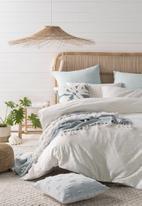 Linen House - Hydra duvet cover set - blue