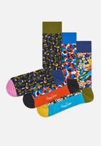 Happy Socks - Wiz Khalifa box set - multi