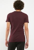 G-Star RAW - Drillon short sleeve tee - burgundy
