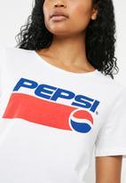 ONLY - Pepsi tee - white