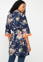ONLY - Terra 3/4 woven kimono - multi