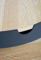 Sixth Floor - Tipton tray coffee table - black