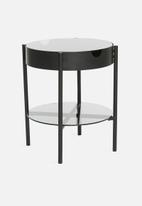 Sixth Floor - Tipton tray side table - black