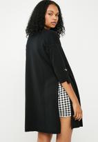 Superbalist - Side slit cardigan - black