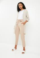 Superbalist - Side slit cardigan - neutral